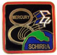 Mercury 8 Lapel Pin